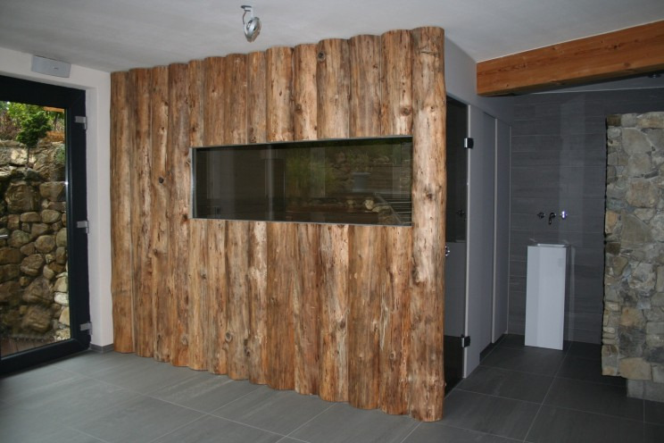 Sauna Modern-Rustikal