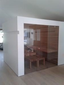 Sauna weiss